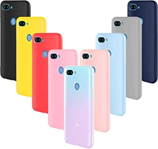 4900bb70bfa ivencase 9 × Funda Xiaomi Mi 8 Lite, Carcasa Fina TPU Flexible Cover para  Xiaomi
