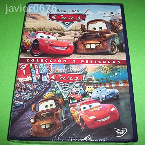 Cars 1 y Cars 2 DVD en un solo estuche 2 discos [DVD]