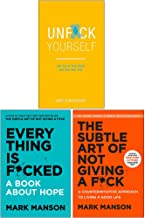 Everything Is Fcked [Hardcover], The Subtle Art of Not Giving a Fck [Hardcover], Unfck Yourself 3 Books Collection Set