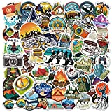 80pcs Outdoor Stickers for Water Bottles,...