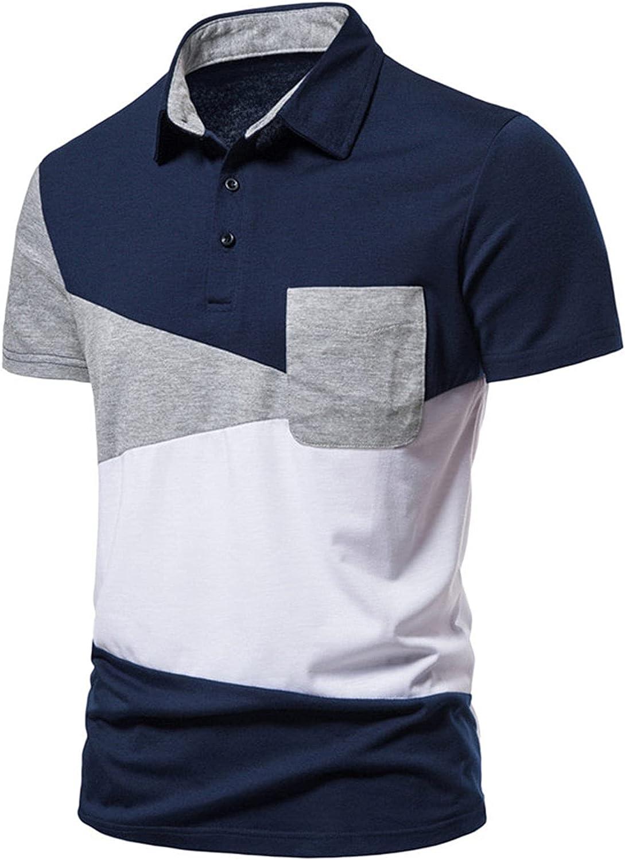 Mens Polo Shirts Casual Max 40% OFF Collar Office Shirt Max 65% OFF Sleeve Short T Golf