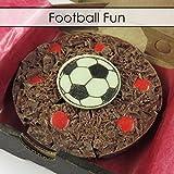 Gourmet Schokolade Mini Pizza belgischen Schokolade Football 4'' Pizza -