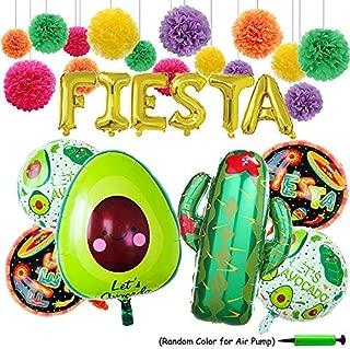 FIESTA Party Foil Ballons, 24
