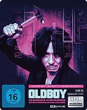 Oldboy - Limited SteelBook  (4K Ultra HD) (+ Blu-ray 2D) (+ 2 Bonus-Blu-rays) [Alemania] [Blu-ray] las mejores peliculas de la historia