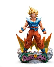 DWWSP Angry Sun Wukong, Colección de Juguetes de PVC, Estatuas y Personajes de Personajes, Modelo de Juguete de Juguete Decorativo de Escritorio, Modelo de Anime Dragon Ball (23 cm)