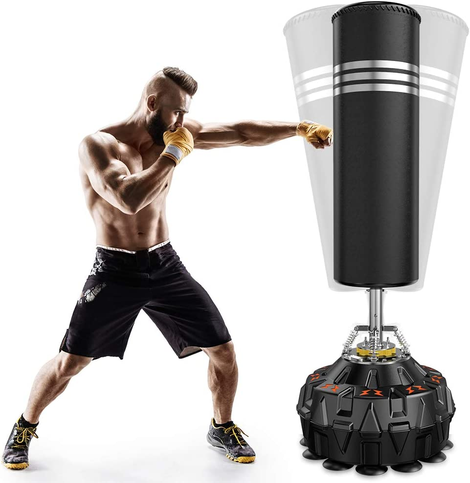 Dprodo Freestanding Punching Bag 70'' 182lb - w New products, world's highest quality popular! Heavy Boxing Large discharge sale