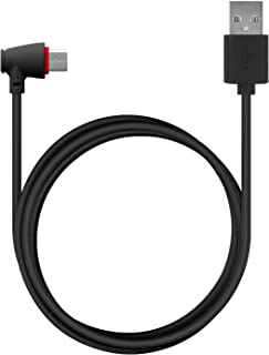 Cellet USB C (Type-C) to USB-A Cable with 90 Degree Connector, 4 Feet Charging and Data Sync Cable for Samsung Note 9/8, Galaxy S9/S8/Plus, LG G5/G6, V40 ThinQ, V35/V30, Google Pixel 3/XL/2/XL