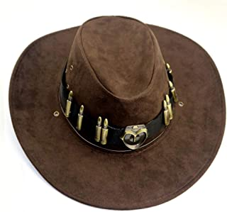 McCree Western Cowboy Hats McCree Cosplay Costume Accessories Overwatch Game Anime Props Unisex Cap
