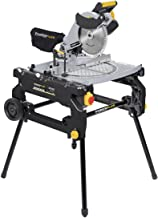 POWERPLUS POWX07587 - Ingletadora/sierra de mesa 2000w 254mm 2 en 1
