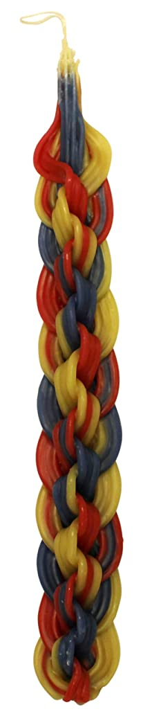 Majestic Giftware SC-HMC18 Safed Havdalah 18-Wick Candle, 14-Inch, Multi Color