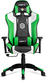 Drift Real Betis Edicion Especial - DRREALBETIS - Silla Gaming, Color Negro/Verde/Blanco