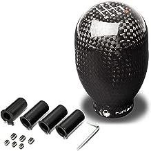 NRG SK-100BC-1 Universal 42mm 6-Speed Black Carbon Fiber Shift Knob