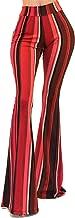 Vivicastle Women's USA Boho Comfy Stretchy Bell Bottom Flare Pants
