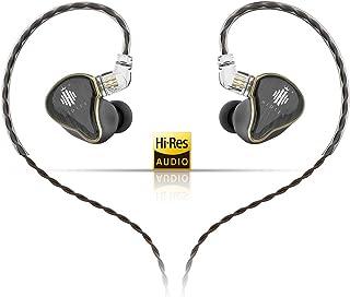 HIDIZS MS4 HiFi in-Ear Monitor Headphones, Hi-Res Audio IEM Earphones with Detachable Cable Four Driver Hybrid (1 Dynamic ...