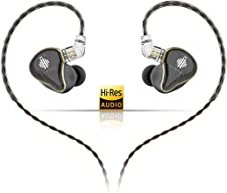 HIDIZS MS4 HiFi in-Ear Monitor Headphones, Hi-Res Audio IEM Earphones with Detachable Cable Four Driver Hybrid (1 Dynamic ...