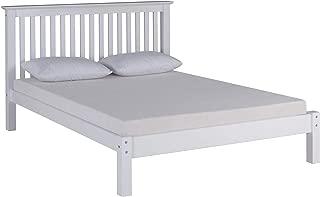 Barcelona Queen Bed, White