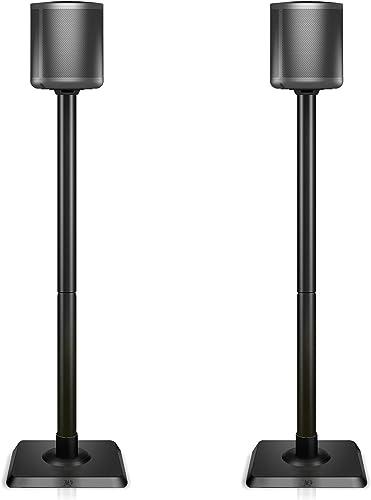 Mounting Dream Speaker Stands Bookshelf Speaker Stands for Universal Satellite Speakers, Set of 2 for Bose Polk JBL S...