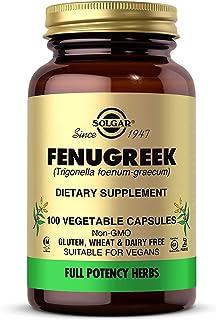 comprar comparacion Solgar Fenogreco Cápsulas vegetales - Envase de 100