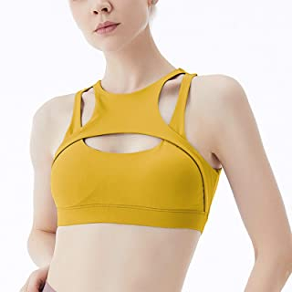 Sports Bra Running Sling Sports Bra Cup Actively Adjustable Seamless Low Impact Fitness Bra Women's Yoga Running Aesthetic...