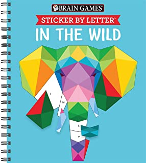 Best Brain Games - Sticker by Letter: In the Wild (Sticker Puzzles - Kids Activity Book) Review