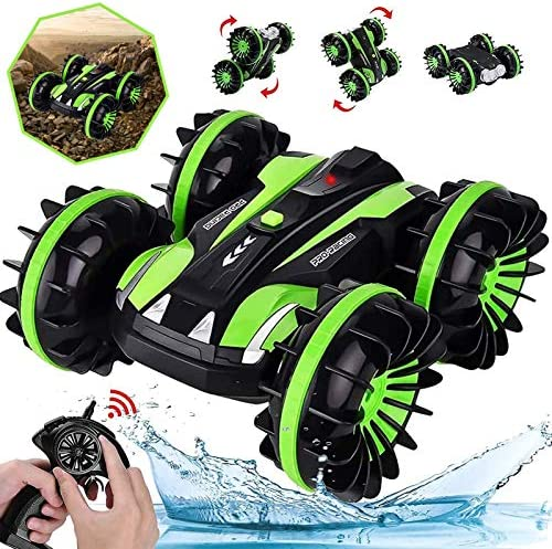 HOMOFY RC Cars Toy for 3 8 Year Old Boys Amphibious Remote Control Car Boat for Kids 2 4 GHz product image