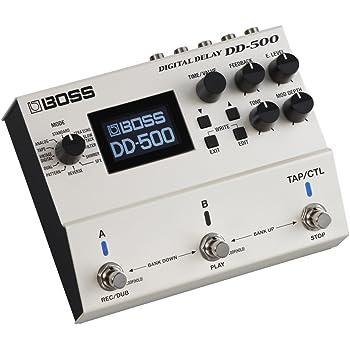 BOSS Digital Delay Guitar Pedal, Standard (DD-500)