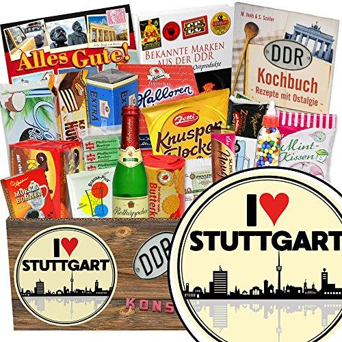 I love Stuttgart / Ostbox mit Süßigkeiten / Geschenk Eltern Stuttgart