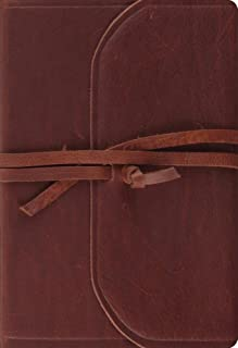 ESV Student Study Bible (Brown, Flap with Strap)
