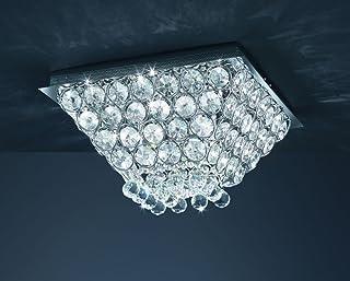 Khl Led Deckenlampe Kinderlampe blau Wolke 3x7W GX53 LED 45cm KH30262