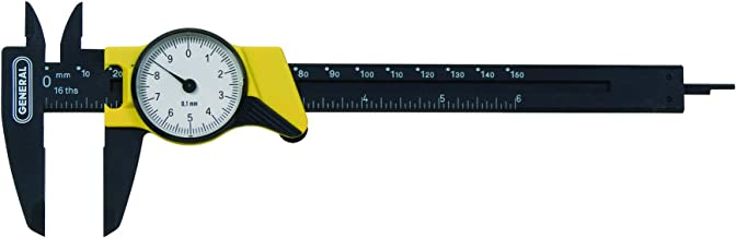 General Tools 144MM Plastic Metric Dial Caliper