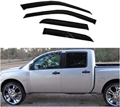 Amazon Com Made In Usa Compatible With 2004 2015 Nissan Titan Crew Cab Rocker Panel Chrome Stainless Steel Body Side Moulding Molding Trim Cover 3 Wide 4pc Overlay Automotive