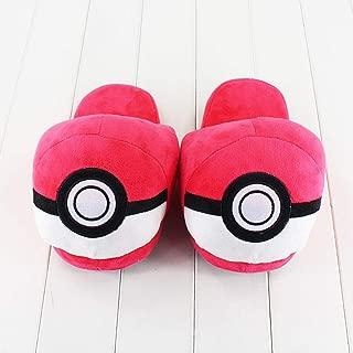 Pokemon Pokeball Slippers Red