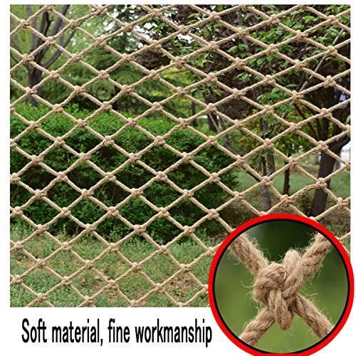 Vintage decoratief net, Veiligheidsnet voor kindertrappen Balkon scheidingsnet Hangbrug leuning hek Speelnetten voor de speeltuin, Meerdere formaten (Size : 2 * 3M(7 * 10ft))