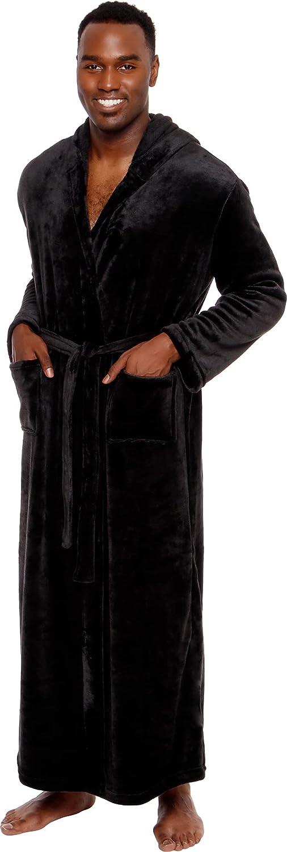 Ross Michaels Mens Robe Big Tall Shawl Long-awaited - SALENEW very popular! Long with Hood Plush
