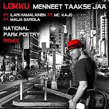 Menneet Taakse Jää (National Park Poetry Remix) [feat. Maija Sariola, Ilari Hämäläinen & MC Kajo]