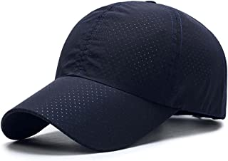 TACVASEN Ultra Thin Quick Dry Baseball Cap UV Outdoor Sports Hat with Adjustable Buckle