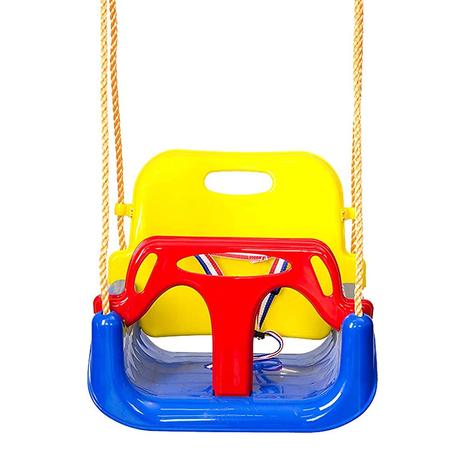 WDDH Toddler Swing Seat,3 in 1 Hanging Swing Set Detachable Playground Gym Secure Hanging Swing Seat Set for Children Indoor Outdoor Patio