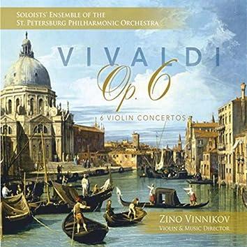 Vivaldi: Six Violin Concertos, Op. 6
