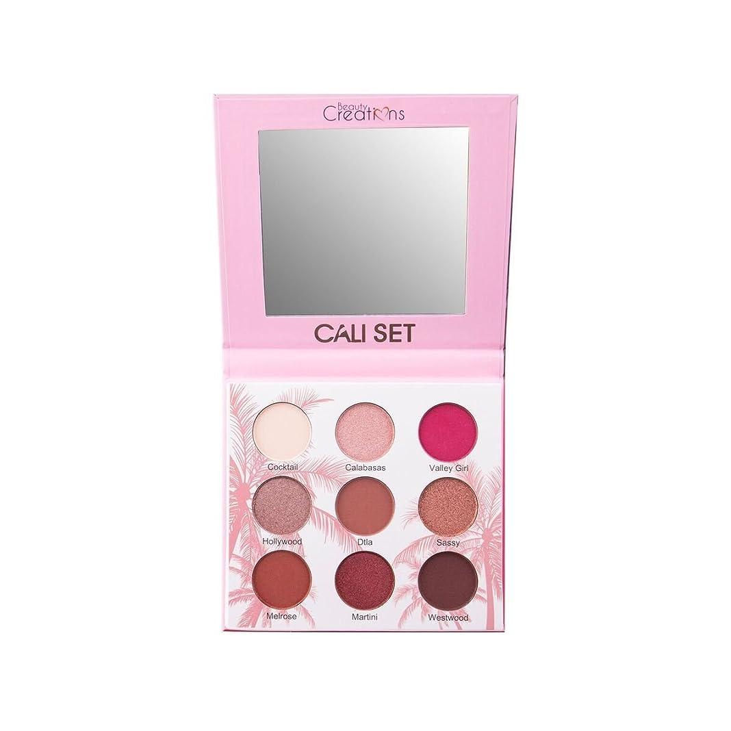 上に運河橋脚(6 Pack) BEAUTY CREATIONS Cali Set Eyeshadow Palette (並行輸入品)