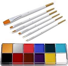 MongKok 12 kleuren Face Body Paint Oil Art make-up...