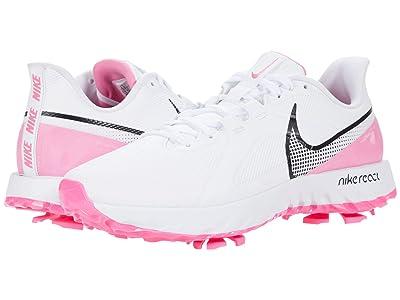Nike Golf React Infinity Pro (White/Lotus Pink) Men
