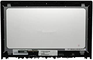New 15.6'' FHD LCD Touch Screen Assembly Fit Lenovo Edge 2-1580 80QF0004US 80QF (NOT for Edge 15 Model)