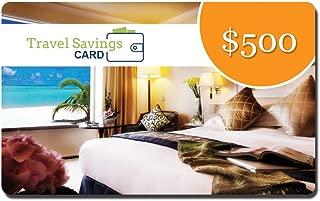 $500 Travel Savings Card