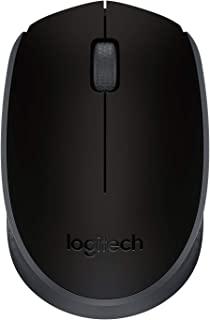 Logitech M171 Wireless Mouse, 2.4 GHz with USB Mini Receiver, Optical Tracking, 12-Months Battery Life, Ambidextrous PC / ...