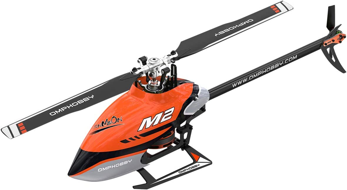 OMPHOBBY M2 V2 Direct-Drive RC Helicopter for Adults