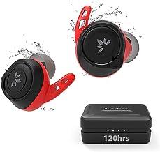 Avantree TWS106 120 Hours IPX7 Water Resistant Sports True Wireless Bluetooth 5.0 Earbuds for Running, aptX & AAC Music He...