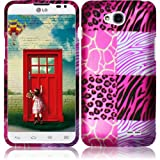 eFashion Quality Hard Protector Case Cover for LG Realm L70 / Exceed 2 / Ultimate 2 L41C Unique Lusty Design also included Elegant Fashion Gift Bag