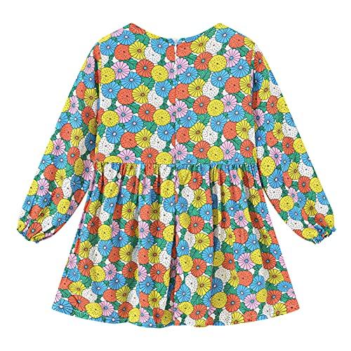 YQSR - Conjunto de ropa de bebé con estampado floral de manga larga para bebé