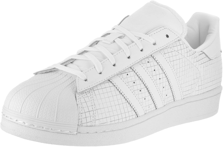 Adidas Men's Superstar Originals Ftwwht Ftwwht Ftwwht Casual shoes 10 Men US