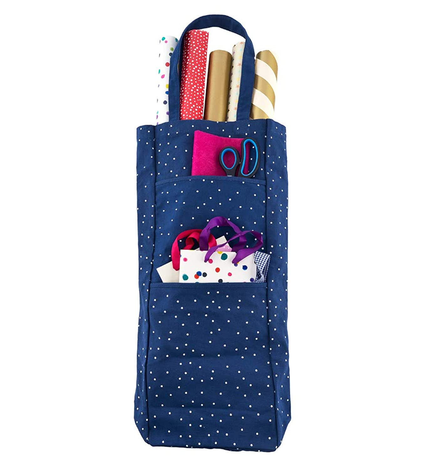 Busy B 8823 Gift Wrap Storage Bag - Store up to 10 Rolls of Wrapping Paper
